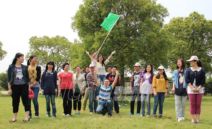 中国银行员工拓展活动--苏州聚睿图片